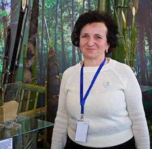 Декоратор Батумского Ботанического сада Нани Концелидзе