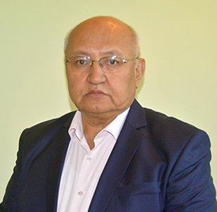 Пресс-секретарь Кыргызской государственной медицинской академии Абибилла Пазылов, фото из архива
