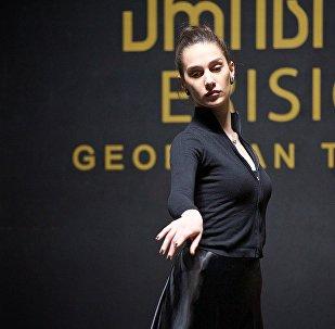 Кадры репетиции ансамбля грузинской песни и танца Эрисиони