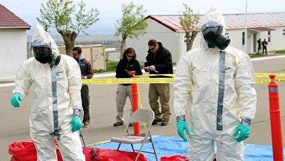 """სწავლება """"""""ქიმიური, ბიოლოგიური და რადიაციული საფრთხეების აღმოჩენა და მათზე რეაგირება"""""""