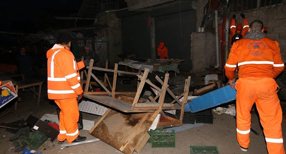 Прилавки тбилисских торговцев устанции метро демонтированы