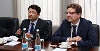 Айдар Ботагаров и Дайнюс Радзявичюс