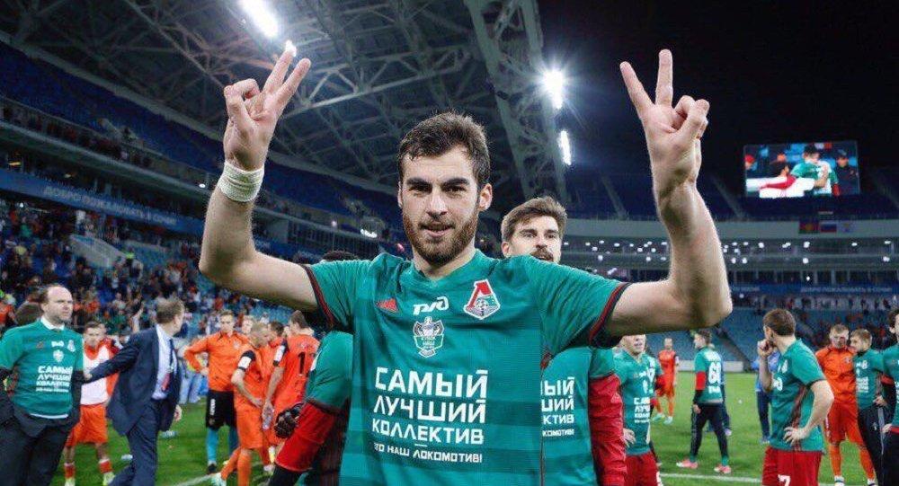 Грузинский футболист Соломон Кверквелия