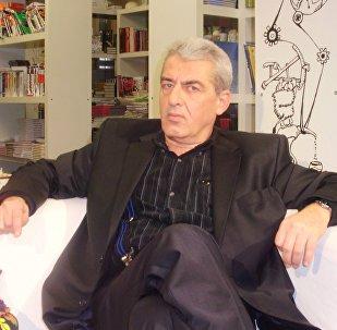 Писатель Михаил Гиголашвили