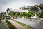 Развлекательный комплекс с выставочными и концертными залами в парке Рике