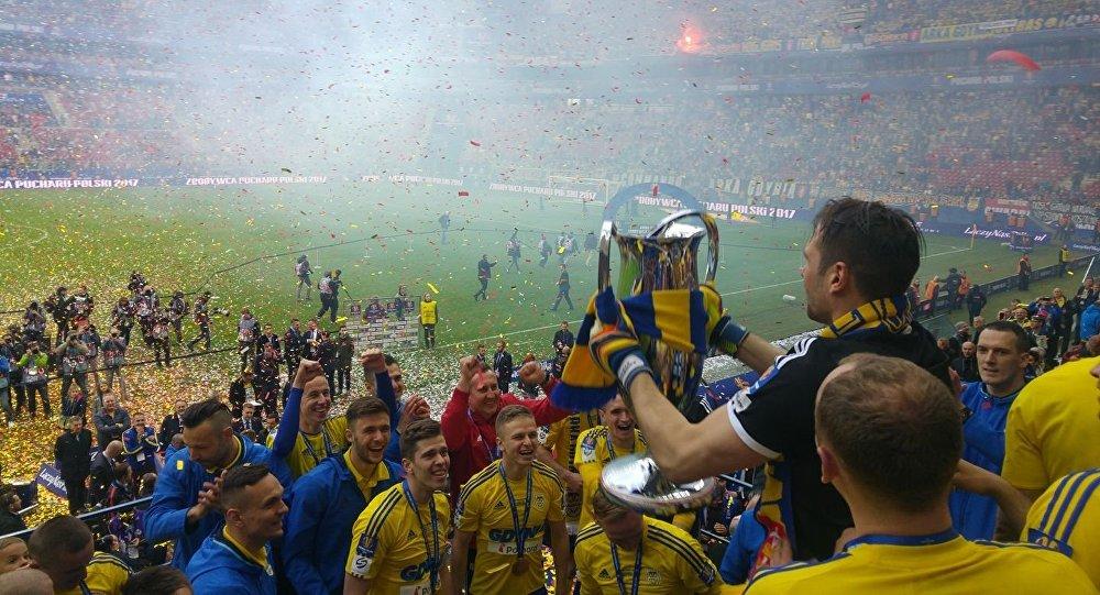 Футбольный клуб Арка стал обладателем Кубка Польши