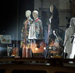 Один из тбилисских бутиков грузинского дома моды дизайнера Avtandil