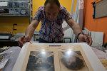 Изготовление штендеров с фотографиями для акции Бессмертный полк в Санкт-Петербурге