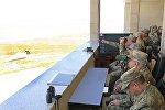 В рамках совместных учений вооруженных сил Азербайджана и Турции был проведен День высокопоставленных наблюдателей