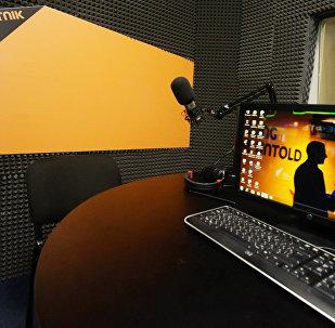 რადიო Sputnik-ის სტუდია