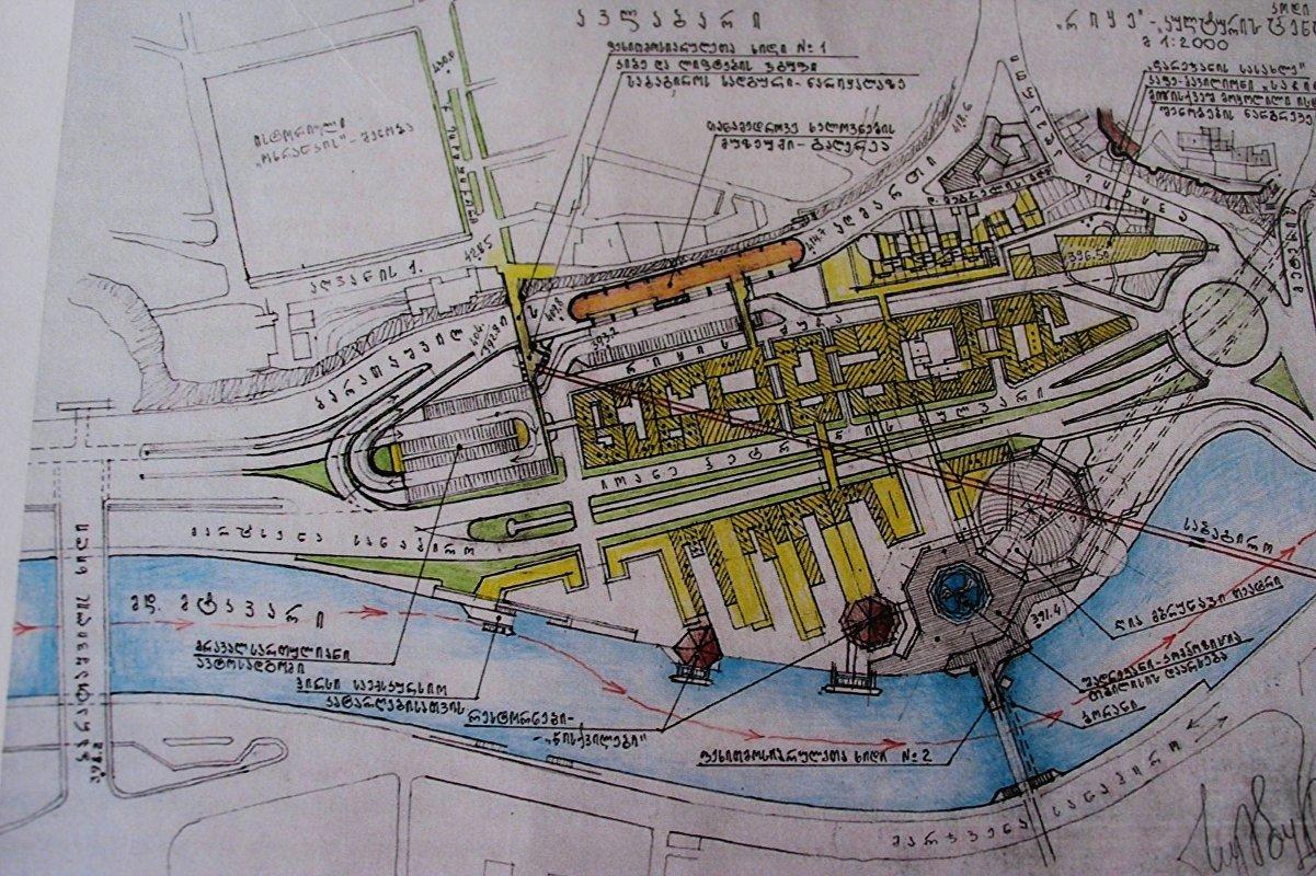 Проект рекреационной зоны Рике (автор Автандил Сумбулашвили)
