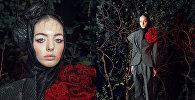 Брючный костюм из коллекции Кети Чхиквадзе осень-зима 2018