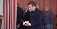 Голосование Макрона и Ле Пен во втором туре президентских выборов во Франции
