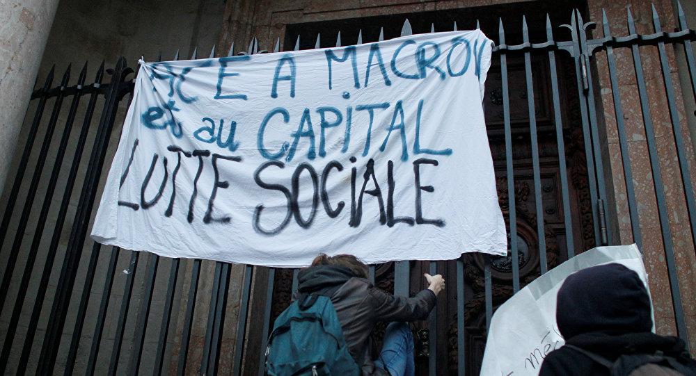 Франция: лишь контуры новой борьбы
