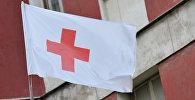 Флаг организации Красный крест