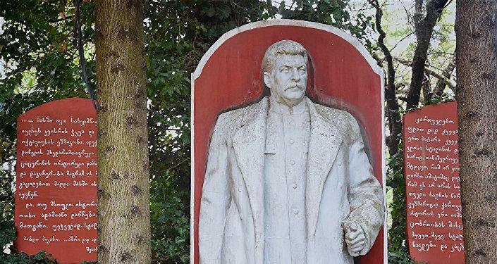 Музей Иосифа Сталина, созданный жителем Ахалсопели Темуром Кунелаури в собственном доме