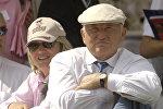 Бывший мэр Москвы Юрий Лужков с супругой
