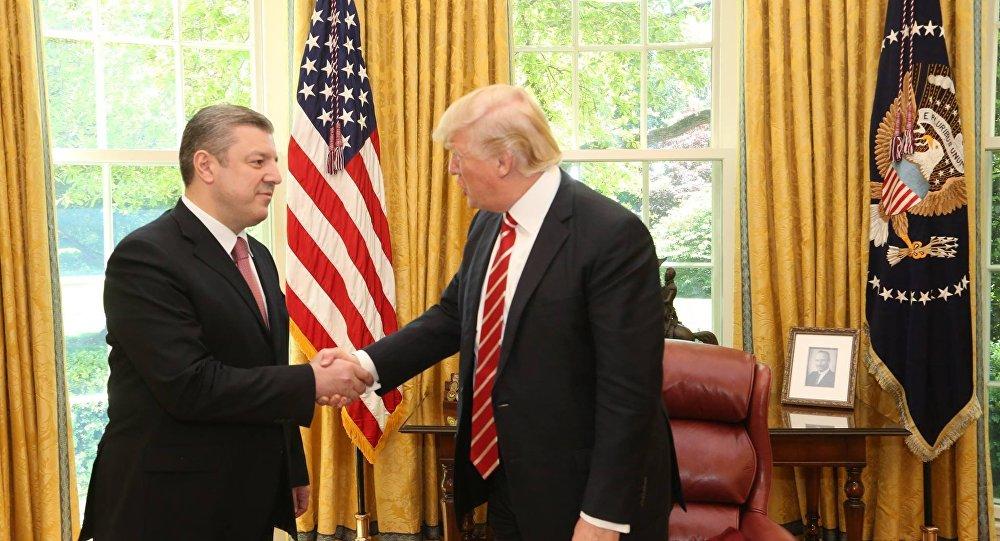 Трамп: «США ивпредь будут поддерживать Грузию»