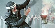 Андрей Файт в роли черного мага