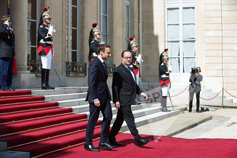 Франсуа Олланд покидает Елисейский дворец