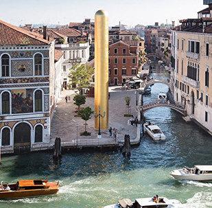 Золотая башня в Венеции