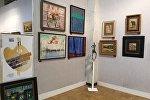 Выставка Грузинские художники в московском Центральном доме художника (ЦДХ) в галерее Эрзи