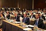 Первый вице-премьер Грузии Дмитрий Кумсишвили на форуме в Пекине