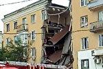 Взрыв обрушил перекрытия четырехэтажного дома в Волгограде