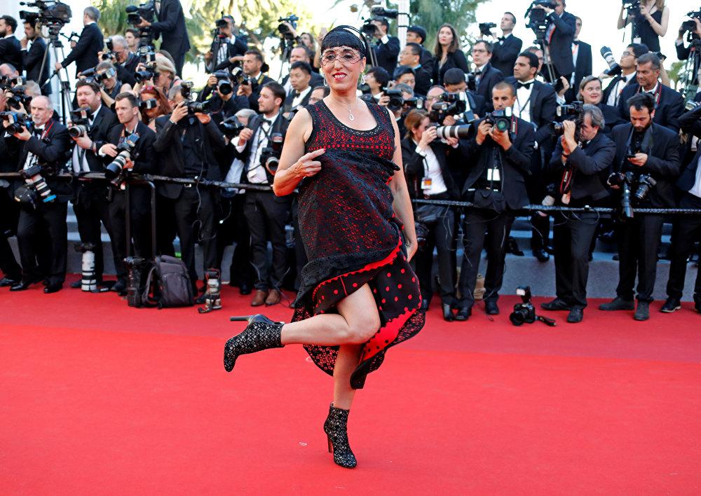 Актриса Росси Де Пальма на церемонии открытия 70-го Каннского кинофестиваля