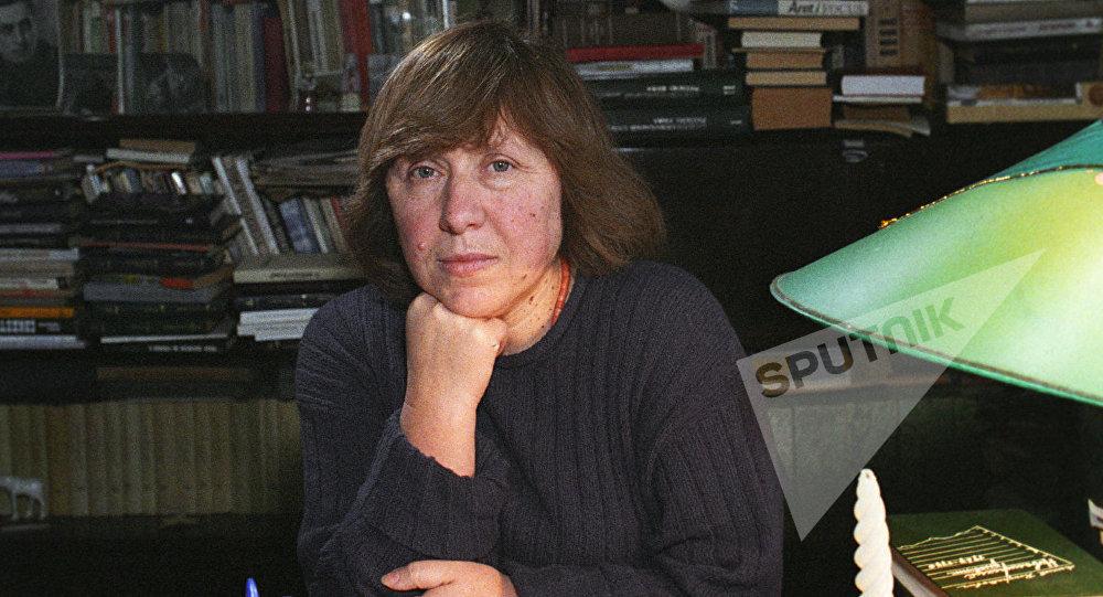 Белорусская писательница С.Алексиевич