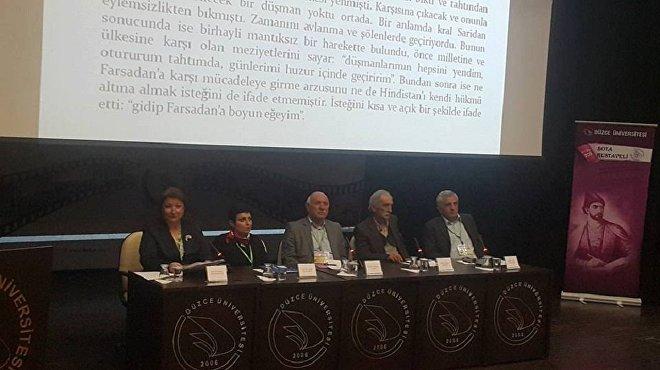 თურქეთის ქალაქ დუზჯეს უნივერსიტეტში შოთა რუსთაველის 850 წლისთავისადმი მიძღვნილი სიმპოზიუმი