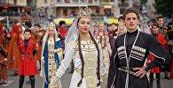 День национального грузинского костюма в Грузии
