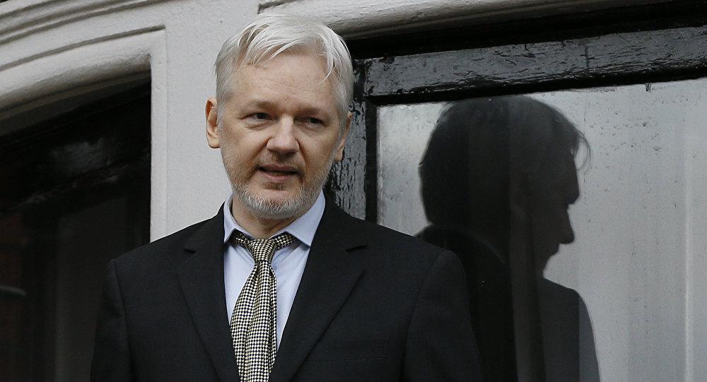 WikiLeaks-ის დამფუძნებელი ჯულიან ასანჟი