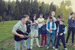 Участница проекта Ты супер! из Грузии встретилась с друзьями в Москве