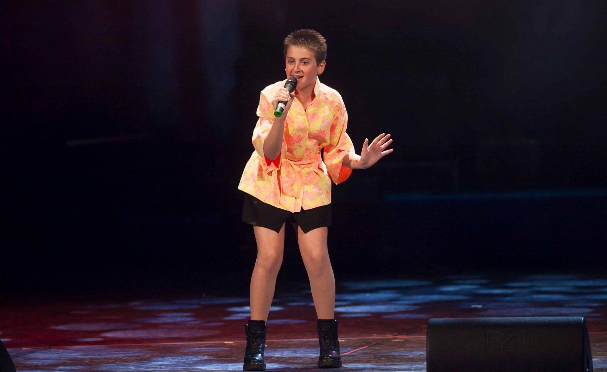 Выступление Лизи Церетели на итальянском конкурсе песни sanremoJunior 2017