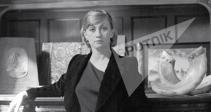 Софико Чиаурели (1937-2008 гг.), советская актриса театра и кино. Народная артистка Грузинской ССР.