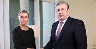 Федерика Могерини и Георгий Квирикашввили