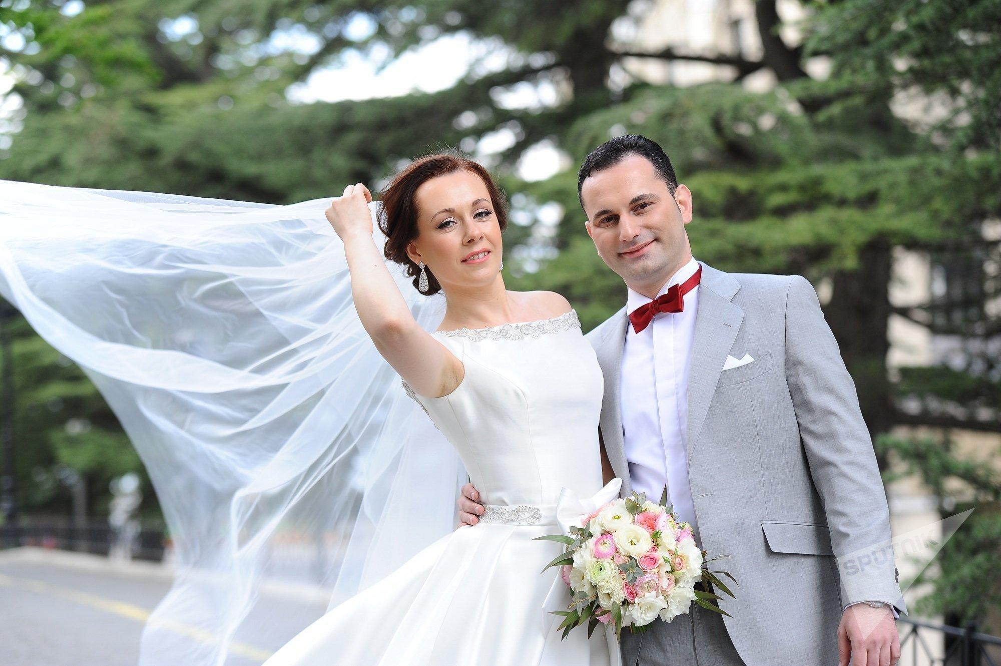Свадьба Станислава Солуна и Снежаны Зинковской в Грузии