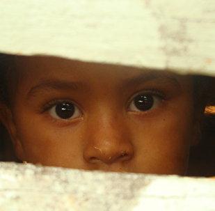 დომინიკანელი ბავშვი