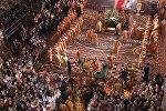 Мощи Николая Чудотворца доставили в храм Христа Спасителя в Москве