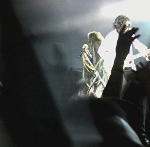 Концерт группы Aerosmith в Грузии