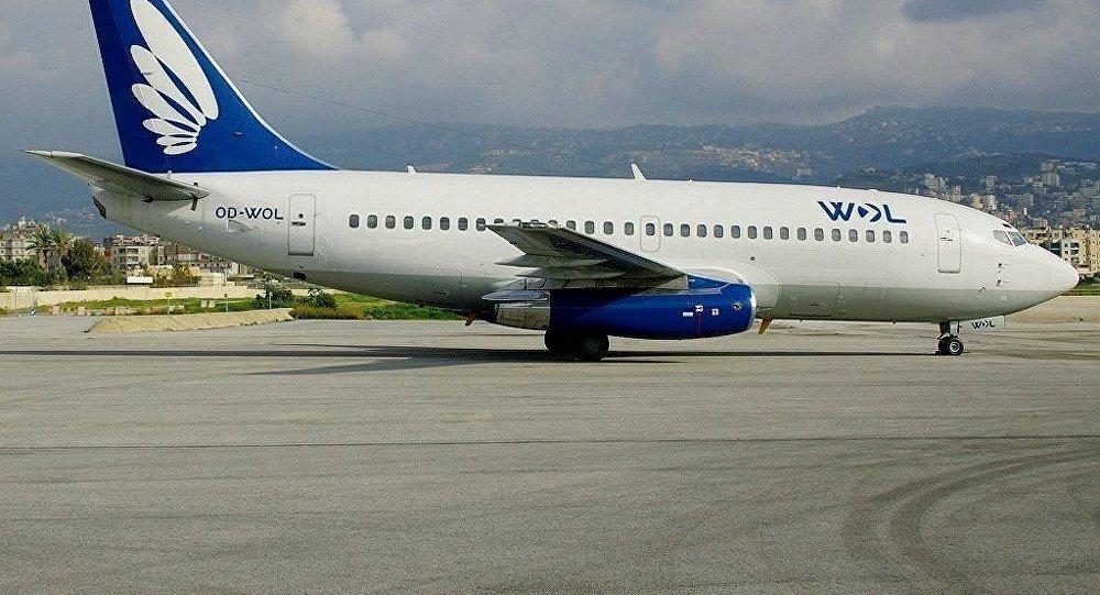 Лайнер авиакомпании Wings of Lebanon