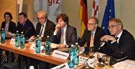 Обсуждение поправок в Конституцию Грузии в Берлине