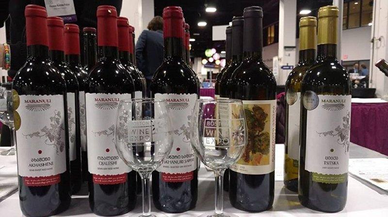 Грузинское вино компании Маранули
