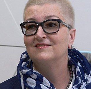 Известная российская писательница Татьяна Устинова