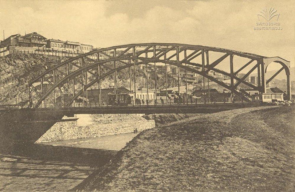 Мухранский мост. Архивное фото