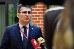 Глава фракции Грузинская мечта Мамука Мдинарадзе