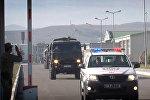 Машины военной полиции министерства обороны Грузии