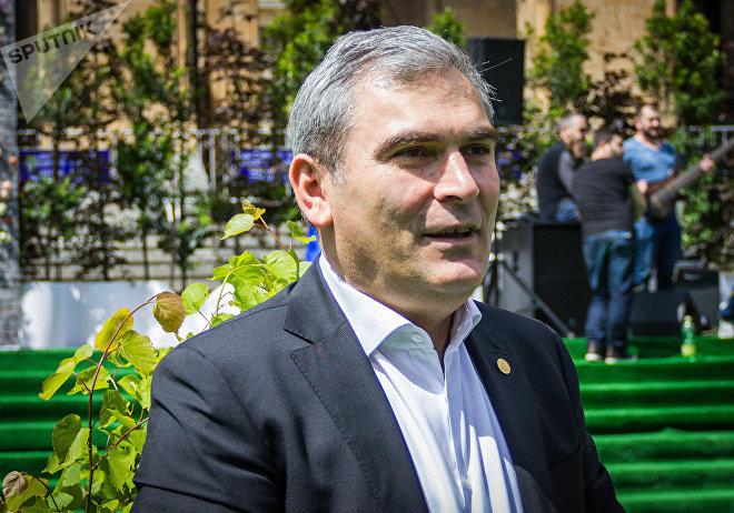 Министр окружающей среды и природных ресурсов Гигла Агулашвили