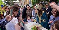 Праздничные свидетельства о браке выдавали в День Независимости Грузии